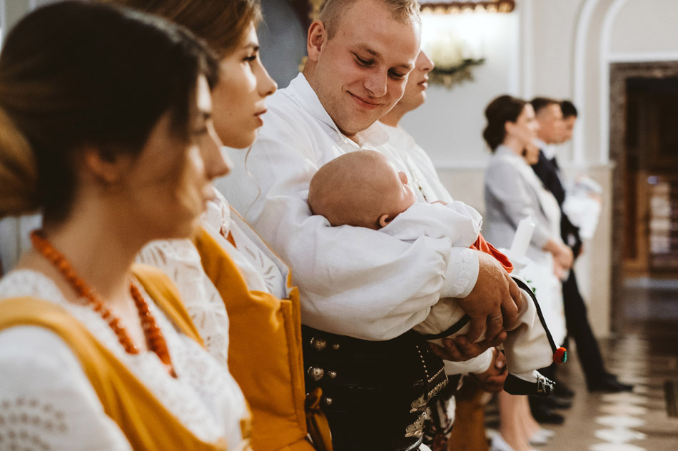 zdjęcia rodzinne, chrzest Zakopane