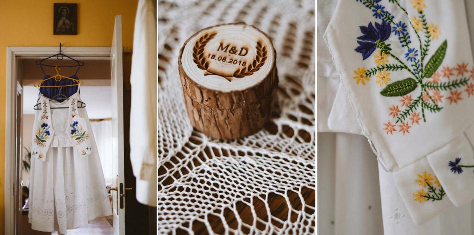 góralski strój ślubny