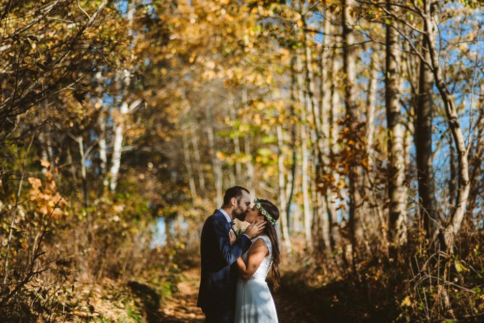 jesienny plener ślubny w beskidach