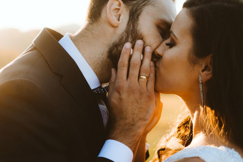 zdjęcia ślubne z pleneru ślubnego w Koniakowie