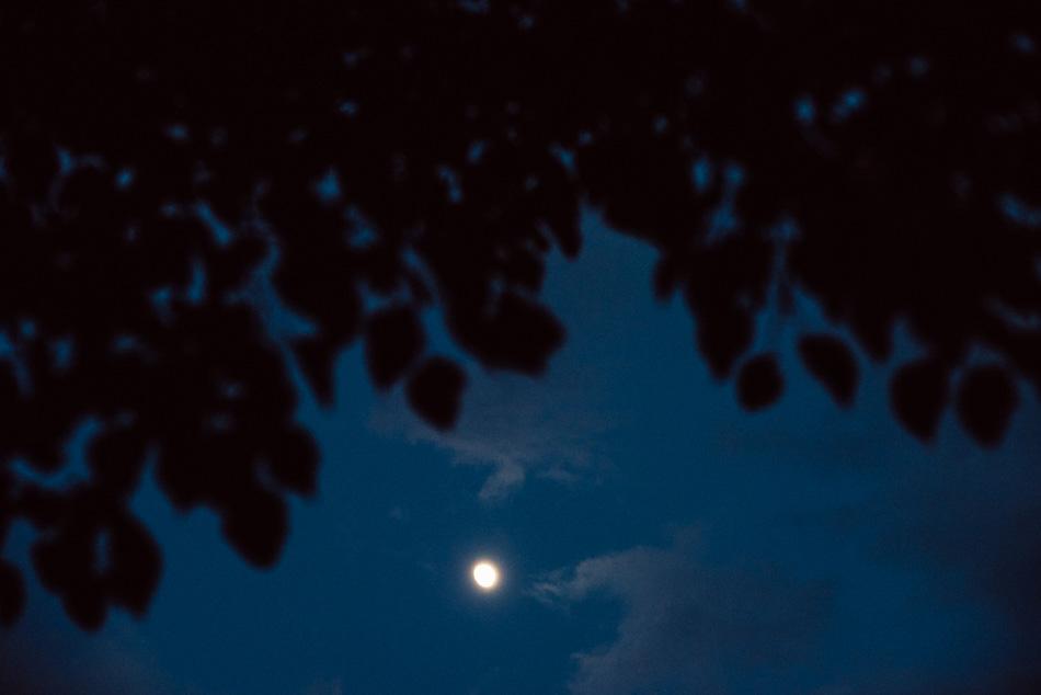 księżyc w pełni w beskidach
