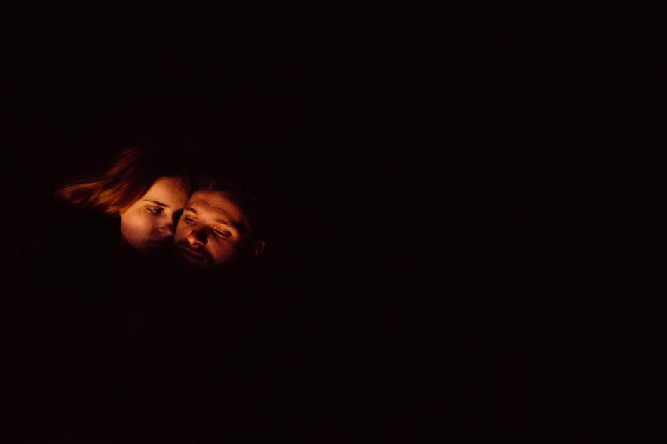 para w ciemności nocy