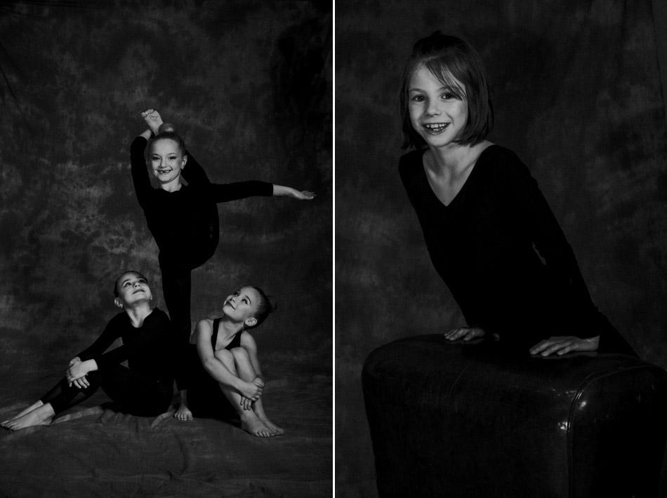 fotograficzna sesja portretowa małych sportowców